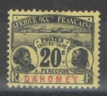 Dahomey - YT Taxe 4 Oblitéré - 1906 - Oblitérés