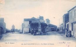 ¤¤  -    20   -   SAINTE-PAZANNE   -   La Route De Rouans   -  Le Calvaire , Moulin    -  ¤¤ - Sin Clasificación