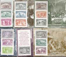 1992-ED. 3204 A 3209 H.B.-COLON Y EL DESCUBRIMIENTO DE AMERICA-NUEVO- - Blocs & Feuillets