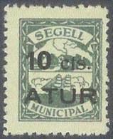 ESPAÑA  - GUERRA CIVIL 1936/39/ ATUR(**) - Vignetten Van De Burgeroorlog
