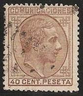 ESPAÑA 1878 - Edifil #195 - VFU - Usados
