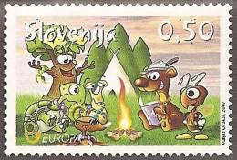 CEPT - ESLOVENIA 2007 - Yvert #587 - MNH ** - Europa-CEPT