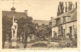 HARCHIES : Chateau De Monsieur André. Cour Intérieure - Editeur C. Marlot, Harchies - Bernissart