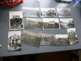 86 Vienne, Angles-sur-Anglin, Lot De 8 Photos Originales Maurice Couvrat Vers 1920  ; Ref 905 PH 18 - Photography