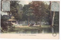 TOURS   -  Le Jardin Botanique  - Belle Carte Aquarellée -   Edt Grand Bazard. - Tours