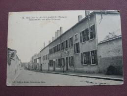 CPA 69 BELLEVILLE SUR SAONE Pensionnat De Melle DECHAUX Institution De Jeunes Filles  1912 - Belleville Sur Saone