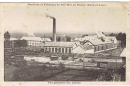 Carte TOURY - Sucrerie & Fabrique De PAIL'MEL - France