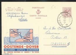 Publibel Obl. N° 1944 (Oostende = Dover) Obl: Meerle  09/12/1964 - Interi Postali