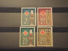 NUOVA GUINEA- 1958 CROCE ROSSA 4 VALORI - NUOVI(++) - Nuova Guinea Olandese