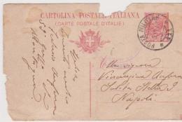 STORIA POSTALE , POSTA MILITARE 111 ALBANIA 59° GRUPPO DA MONTAGNA PER NAPOLI - 1900-44 Victor Emmanuel III