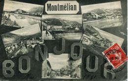 12835  - Savoie -  MONTMELIAN /  CARTE  MULTIVUES - Montmelian