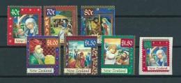 1998 New Zealand Complete Set Christmas,kerst,noël,weihnachten MNH,Postfris,Neuf Sans Charniere - Nouvelle-Zélande