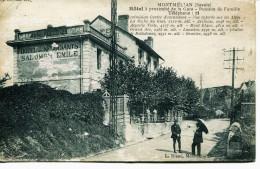 12838  - Savoie -  MONTMELIAN  : PENSION DE FAMILLE  A COTE DE LA GARE    (disparue ??)  Circulée - Montmelian