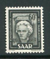 ALLEMAGNE- Sarre- Y&T N°283- Neuf Sans Charnière ** - 1947-56 Occupation Alliée