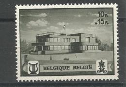 België N° 537 A   V1  Xx Postfris  Bespijkerde Overgang - Abarten Und Kuriositäten