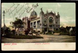 ARGENTINA BUENOS AIRES TARJETA POSTAL  PAVILLION Vintage Original Ca1900 POSTCARD CPA AK (W4_2881) - Argentine