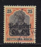 GERMANY OST,  1916, Cancelled Stamps,  Germania, 25 Pf, Orange, MI 9 , #13287 - Occupation 1914-18