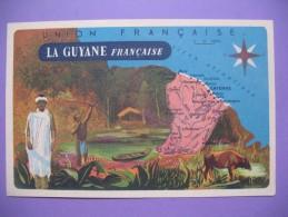 """CPA    Union  Française   """"  La Guyane   Française  """" - Geschiedenis"""