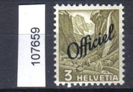 Schweiz, Bundesverwaltung Zst. / Mi. 46 ** - Officials
