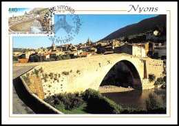 4824/ Carte Maximum France N°2956 Le Pont (bridge) De Nyons (Drôme) - Cartes-Maximum