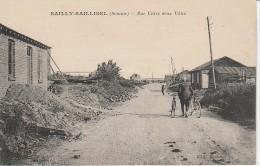 80 - SAILLY SAILLISEL - Rue Entre Deux Villes - France