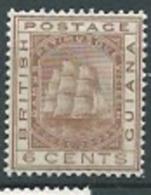 Guyane Britanique   - Yvert N°68*      Ai21106 - Guyane Britannique (...-1966)