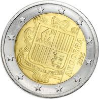 Pièce 2 Euros ANDORRE - 2015 - Andorre