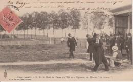 88-CONTREXEVILLE-SHAH DE PERSE AU TIR AUX PIGEONS-BELLE CARTE - France