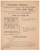 Algérie Française - Old Paper