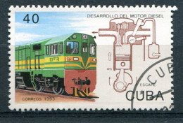 Cuba 1993 - YT 3280 (o) - Trains - Treni