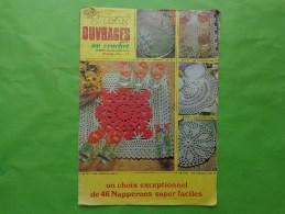 Tout Le Tricot Ouvrages N°74 Bis 15 Feuilles De Modeles De Napperons  (incomplet) - Magazines: Abonnements