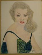 Dessin Au Crayo Dn-Illustrateur -Belle Jeune Femme   (8) - Drawings