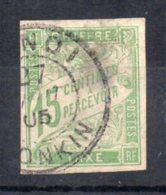 Timbre Taxe N° 20 Oblitéré Hanoi  Tonkin  Clair - Portomarken