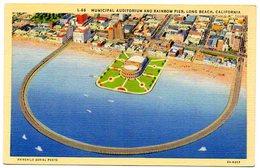 Municipal Auditorium And Rainbow Pier- LONG BEACH- CALIFORNIA  ( Amerique ) - Long Beach