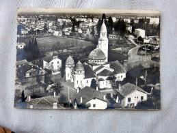 Carte Postale Ancienne : En Avion Au Dessus De PAU : Eglise SAint-Joseph - Pau