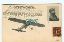 Br - 49 - ANGERS - Aviation - Aviateur Jules Vedrines - RARE VISUEL - Angers