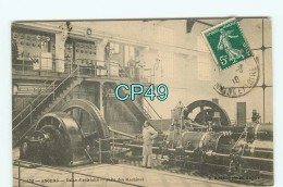 Br - 49 - ANGERS - Usine  éléctricité - Salle De Machine - éditeur Riviére  - RARE - Angers