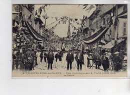 VILLEFRANCHE SUR SAONE - Fêtes Gymnique Des 6 7 Et 8 Juillet 1913 - Le Défilé - Très Bon état - Villefranche-sur-Saone