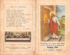 """05684  """"RUBBIANETTA DI DRUENTO (TO)- PARR. DI S. MARIA DELLA STELLA  E DI S. GIULIANO M. PASQUA '56"""" IMM. RELIG. ORIGIN. - Santini"""