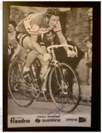 Freddy Maertens Carpenter Shimano Flandria Autographe Manuscrit - Radsport