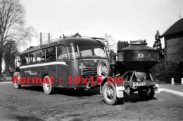 Photographie D´un Bus Opel Blitz Avec Une Remorque En 1939 - Reproductions