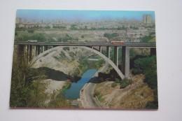 Armenia Postcard Yerevan. Razdan Bridge   TRAM - TRAMWAY  1979 Stationery - Strassenbahnen