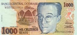 BRAZIL 1000 CRUZEIROS REAIS ND (1993) P-240 UNC  [BR862a] - Brazil