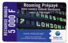 COTE D'IVOIRE Prepayée TELECEL LOTENY TELECOM 5 000F - Ivory Coast