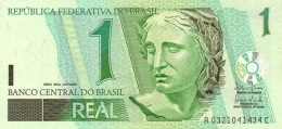 BRAZIL 1 REAL ND (2003) P-251 UNC  [BR873a] - Brazil