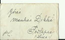 BRIEF MIT INHALT  ---   M. DIKLIC  --   PODLAPAC, LIKA  --  FROM VJENCESLAV RADOSEVIC, LESCE, LIKA  --  1914 - Kroatien