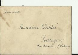 BRIEF MIT INHALT  --  M. DIKLIC  --    PODLAPAC, BUNIC,  LIKA  --  STEMPEL SUSAK UND BUNIC  --  1912 - Kroatien