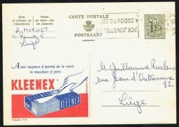 """CP Public. N° 1422  """"KLEENEX"""" - Circulé - Circulated - Gelaufen - 1956. - Publibels"""