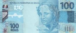 BRAZIL 100 REAIS 2010 P-257 UNC PREFIX AA [BR879a] - Brazilië