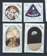 Bahamas 1989 Moon Landing Set Of 4 MNH - Bahamas (1973-...)